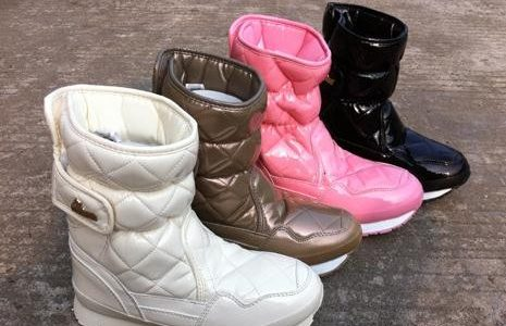 Rubber Duck Snow Joggers Boots Flatter a Special Sense of Beauty